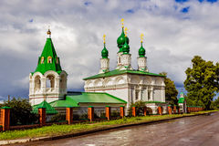 Church in solikamsk Royalty Free Stock Photography