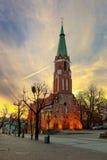 Church in Sopot Stock Photo