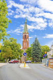 Church in Sopot , Poland. Stock Photos