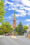 Church in Sopot , Poland. Stock Photos
