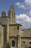 Church of the SOS del Rey Catolico. Old stone church located in SOS del Rey Catolico - Zaragoza, Spain Stock Photos