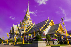 Church Sothon. Buddhist church Stock Image