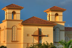 Church in South Florida Stock Images