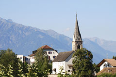 Church in South Tyrol Royalty Free Stock Photo