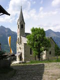 Church in south-Tyrolia. Small church in South-Tyrolia (Italy royalty free stock photography
