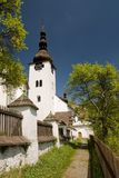 Church in spania dolina Royalty Free Stock Photo