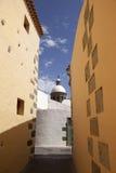 Church in spanish village Stock Image