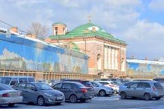 The Church Spasa Nerukotvornogo Obraza in St. Petersburg. Stock Image