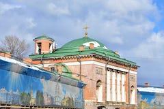 The Church Spasa Nerukotvornogo Obraza in St. Petersburg. Royalty Free Stock Photos