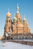 Church on Spilled Blood. Saint-Petersburg. Russia Royalty Free Stock Image