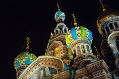 Church on Spilled Blood Royalty Free Stock Photography