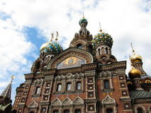 The church of spilled blood Stock Photography