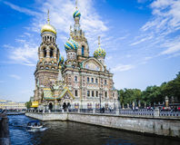 Church of the Spilled Blood Royalty Free Stock Images