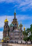Church of Spilled Blood in Saint Petersburg. Russia Royalty Free Stock Images