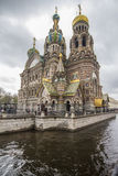 Church of spilled blood, Saint Petersburg, Russia. Church of Our Saviour on Spilled Blood, St Petersburg, Russia Royalty Free Stock Image