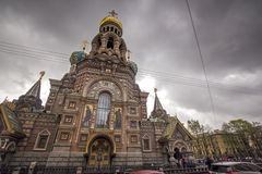 Church of spilled blood, Saint Petersburg, Russia. Church of Our Saviour on Spilled Blood, St Petersburg, Russia Royalty Free Stock Photography