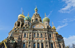 Church of Spilled Blood Stock Images