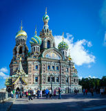 Church of the Spilled Blood Royalty Free Stock Image