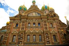 Church of the Spilled Blood, St Petersburg Stock Photography
