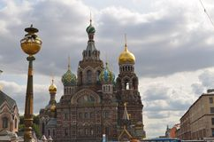 Church of the Spilled Blood, St. Petersburg. Tom Wurl Royalty Free Stock Images
