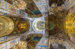 Church of the Spilled Bood, St Petersburg, Russia Stock Image