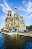 Church of the Spilled Bood, St Petersburg, Russia Royalty Free Stock Photo