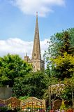 Church Spire, Burford. Stock Photo