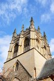 Church Spire in Oxford City Royalty Free Stock Photos