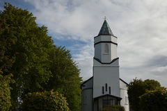 Church spire, Sneem, Ireland Royalty Free Stock Images