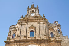 Church of Spirito santo. Francavilla Fontana. Puglia. Italy. Royalty Free Stock Photography