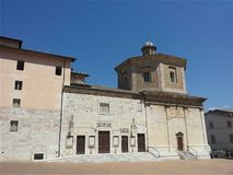Church of Spoleto royalty free stock photos