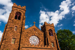 Church in Spring Grove, Pennsylvania. Royalty Free Stock Photography