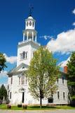 Church in Spring stock image