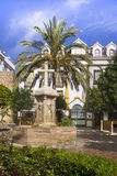 Church Square of Marbella, Spain, Andalusia region Royalty Free Stock Photos