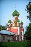 The church of the Sretensky monastery stock photo