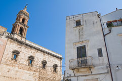 Church of SS. Cosma e Damiano. Conversano. Puglia. Italy. Royalty Free Stock Image