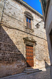 Church of SS. Cosma e Damiano. Conversano. Puglia. Italy. Royalty Free Stock Photo