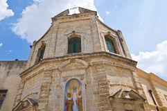Church of SS. Cosma e Damiano. Mesagne. Puglia. Italy. Stock Photos
