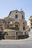 Church of SS. Faustino and Giovita. Viterbo. Lazio. Italy. Royalty Free Stock Photos