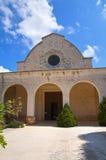 Church of SS. Maria Addolorata. Fasano. Puglia. Italy. Perspective of the Church of SS. Maria Addolorata. Fasano. Puglia. Italy Stock Image
