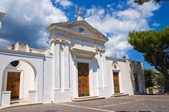 Church of SS. Maria della Luce. Mattinata. Puglia. Italy. Royalty Free Stock Photography
