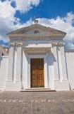 Church of SS. Maria della Luce. Mattinata. Puglia. Italy. Stock Image