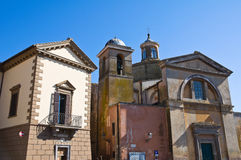 Church of SS. Martiri. Tuscania. Lazio. Italy. Stock Photography