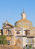 Church of SS. Martiri. Tuscania. Lazio. Italy. Royalty Free Stock Images