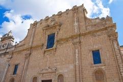 Church of SS. Rosario. Manduria. Puglia. Italy. Royalty Free Stock Photos