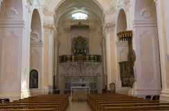 Church of SS. Rosario. Manduria. Puglia. Italy. Royalty Free Stock Images