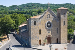 Church of SS. Salvatore. Bolsena. Lazio. Italy. Stock Photo