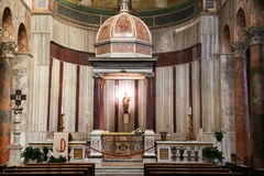 Church of St. Agnes in Rome Royalty Free Stock Images