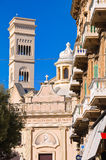 Church of St. Agostino. Bisceglie. Puglia. Italy. Royalty Free Stock Photography