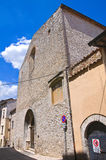 Church of St. Agostino. Narni. Umbria. Italy. Royalty Free Stock Photography